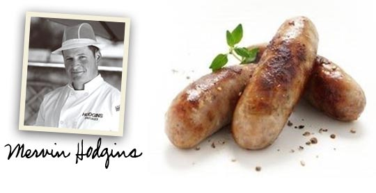 Mervin Hodgins | Irish Pork Sausages
