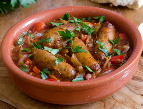 Hearty Sausage Casserole with Leek