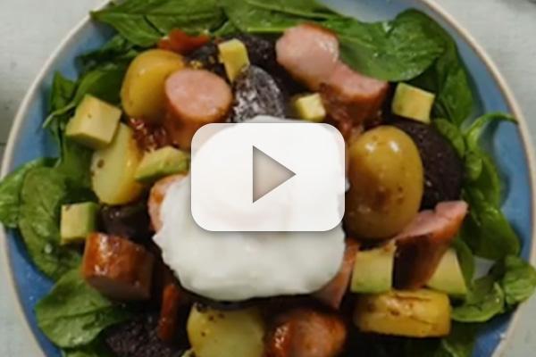 Breakfast Salad Bowl Recipe