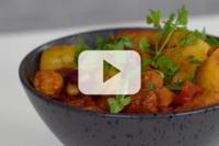 Sausage, Mixed Bean & Baby Potato Casserole